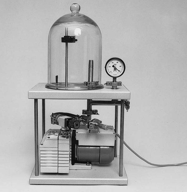 Vakuum-Experimentier-Pumpstand 2