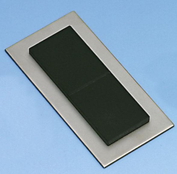 Fresnelspiegel auf Platte