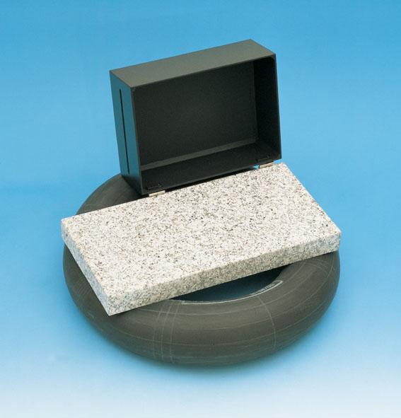 Laseroptik-Grundplatte