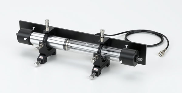 Laserröhre mit XY-Feinverstellung