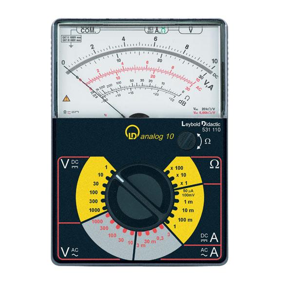 Vielfach-Messgerät LDanalog 10 (Multimeter)