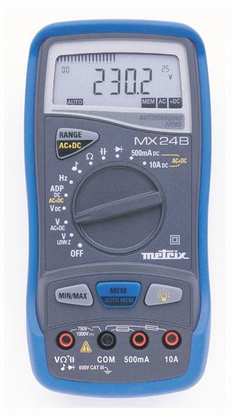 Digital-Multimeter MX 24B