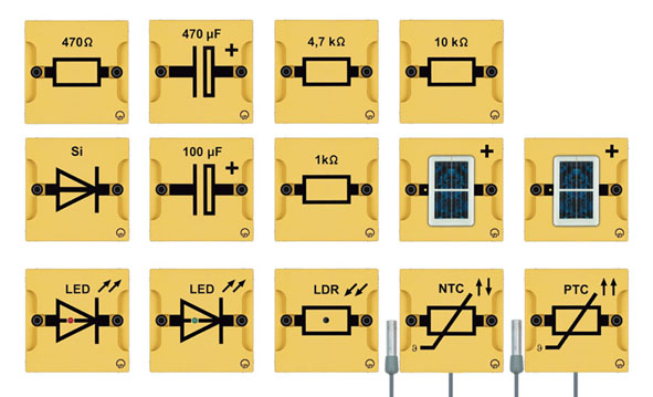 BST D Gerätesatz Grundlagen der Elektronik
