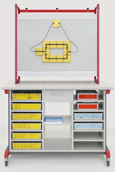 Demo-Experimentierwagen-Komplettpaket: Mechanik-Optik-Elektrik (BST)