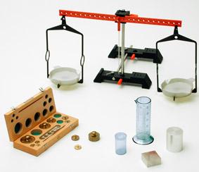 Bestimmung der Masse eines Körpers - Messung mit einer Balkenwaage