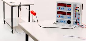 Schallgeschwindigkeit in Luft - Messung mit Sensor-CASSY und Display