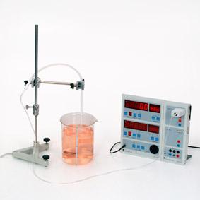 Schweredruck in Wasser - Messung mit Sensor-CASSY und Display