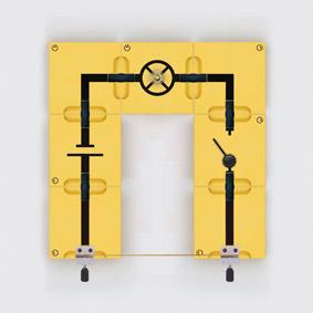 Stromfluss in festen Körpern - Aufbau mit Leiterbausteinen