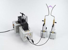 Modell eines Hochspannungstransformators