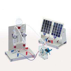 Energieumwandlung in einer Brennstoffzelle - Betrieb mit Solar- und Elektrolysezelle