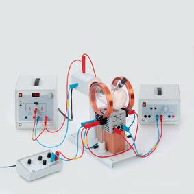 Elektronenstrahlen in parallelen elektrischen und magnetischen Wechselfeldern