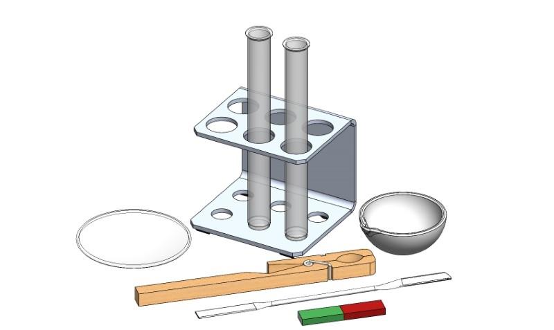 Ausschmelzen und Magnetscheidung