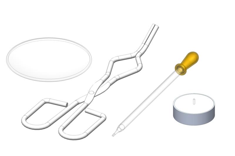 Herstellung und Untersuchung einer Kohlenstoff-Nanopartikel-Schicht