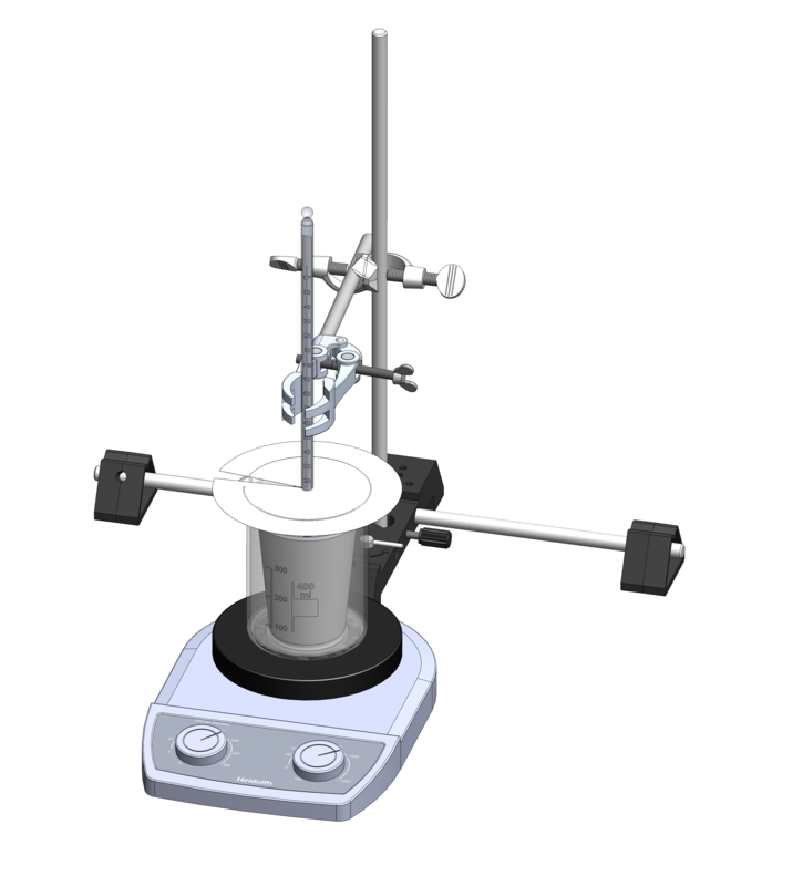 Der Wasserwert eines Kalorimeters
