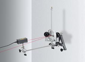Bestimmung der Gravitationskonstanten mit der Gravitations-Drehwaage nach Cavendish - Messung der Auslenkungen mit einem Lichtzeiger
