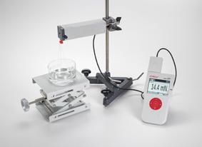 Messung der Oberflächenspannung nach der Abreißmethode - Aufzeichnung und Auswertung mit CASSY