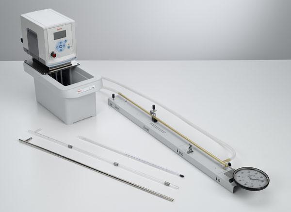 Messung der Längenausdehnung von Festkörpern in Abhängigkeit von der Temperatur