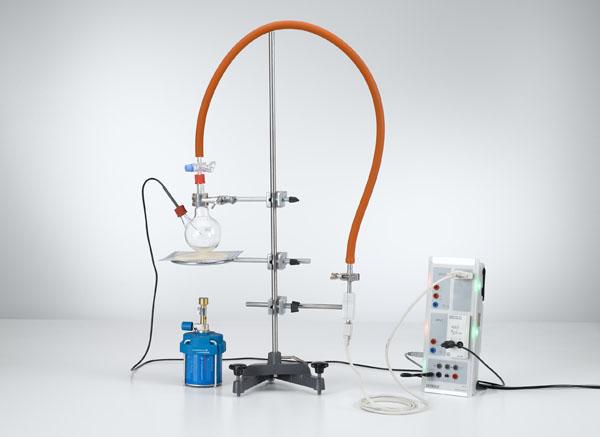 Aufzeichnung der Dampfdruckkurve von Wasser - Drücke bis 1 bar