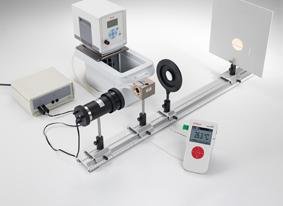 Untersuchung eines Flüssigkeits-Dampf-Gemisches am kritischen Punkt - Messung mit Mobile-CASSY
