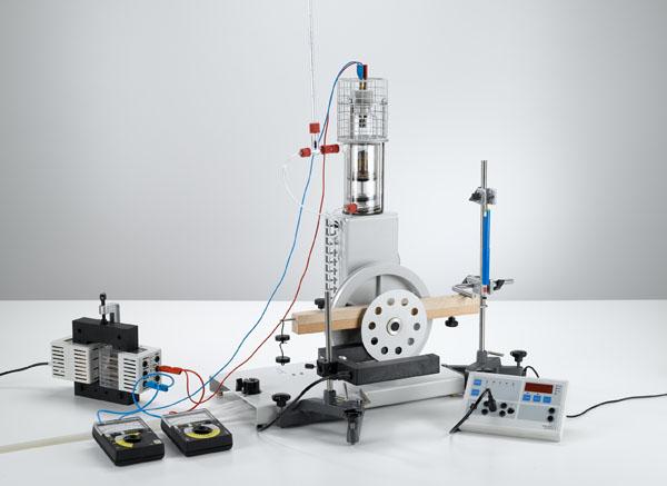 Bestimmung des Wirkungsgrades des Heißluftmotors als Wärmekraftmaschine