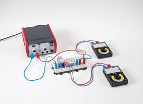 Das Strommessgerät als ohmscher Widerstand in einem Stromkreis