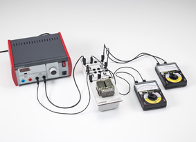 Spannungs- und Stromumformung mit einem Transformator