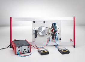 Erzeugung von Wechselspannung mit einem Kraftwerksgenerator (Generator mit elektromagnetischem Innenpol)