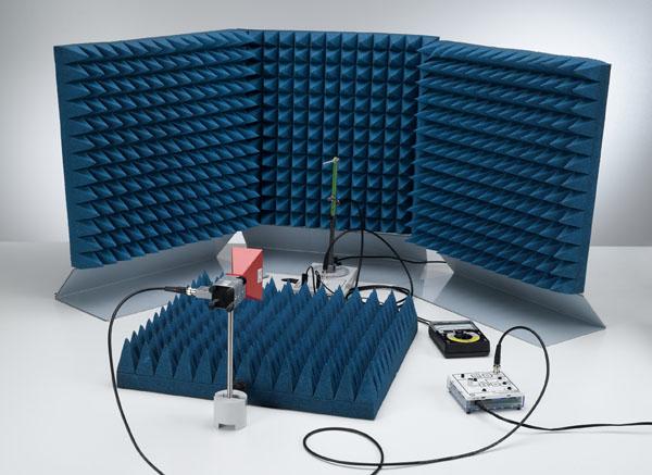 Richtcharakteristik einer Yagi-Antenne - Aufzeichnung von Hand