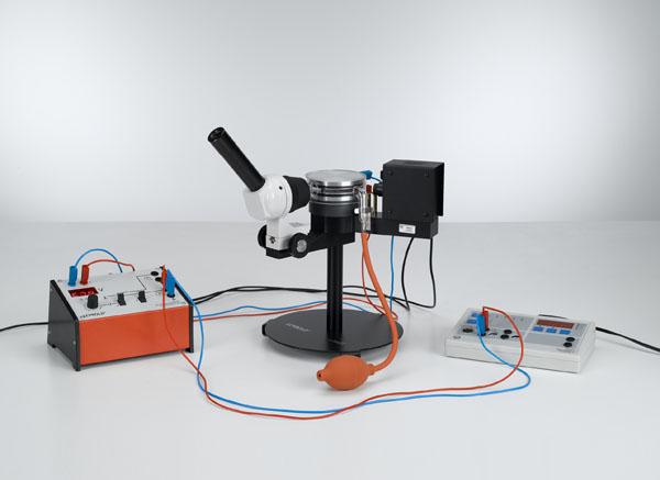 Bestimmung der elektrischen Elementarladung nach Millikan und Nachweis der Ladungsquantelung - Messung von Schwebespannung und Sinkgeschwindigkeit
