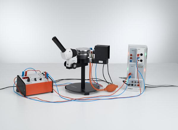 Bestimmung der elektrischen Elementarladung nach Millikan und Nachweis der Ladungsquantelung - Messung von Schwebespannung und Sinkgeschwindigkeit mit CASSY