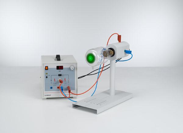 Elektronenbeugung an einem polykristallinen Gitter (Debye-Scherrer-Beugung)