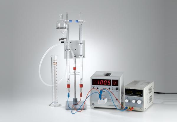 Elektrolytische Wasserzersetzung nach Hoffmann
