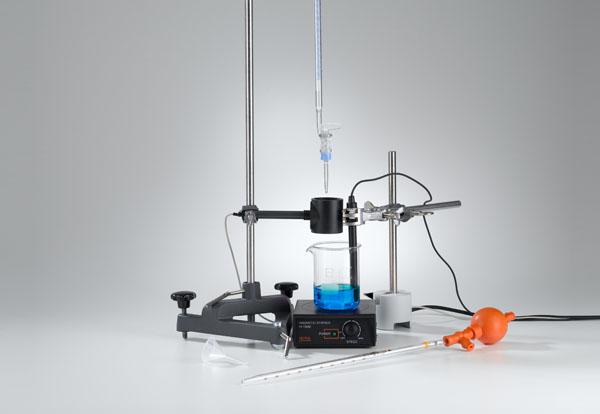 Untersuchung der dreiprotonigen Phosphorsäure mit Titration