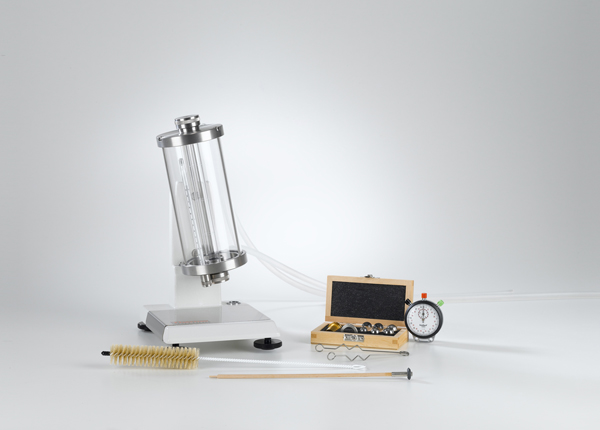 Bestimmung der Viskosität mit dem Kugelfall-Viskosimeter nach Höppler
