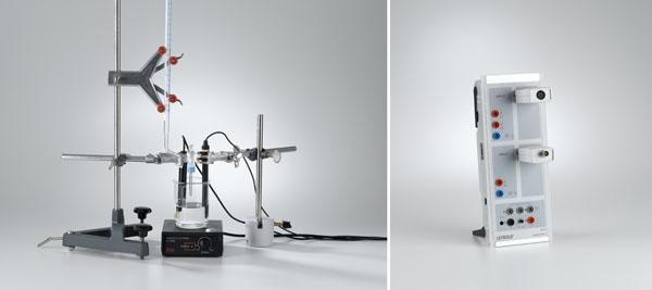 Konduktometrische Titration einer Salzsäurelösung mit pH-Messung