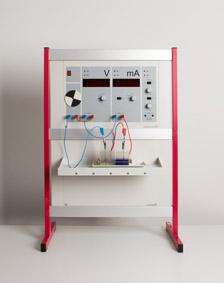 Das Daniell-Element mit dem Demogerät Elektrochemie