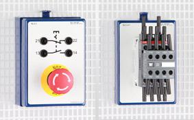 Schützsteuerungen mit Modulen 24 V