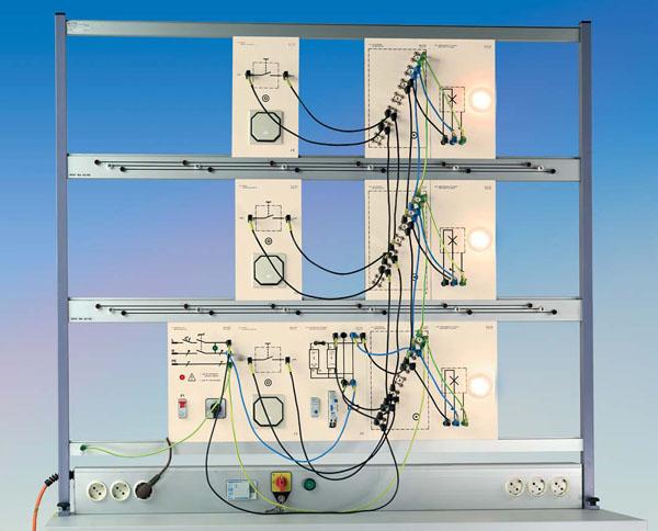 TG 4.110 Installationsschaltungen mit Tastern, Ergänzungsausstattung