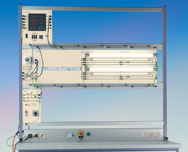 TG 4.130 Installation mit Leuchtstofflampen